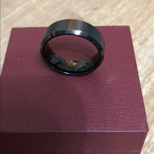 Other - Black tungsten men's ring